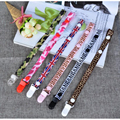 1pc Pacifier Clips Ribbon Dummy Pacifier Chain Clip Holder Baby Nipple Feeding Supplies Kid Funny Garment Clip Toy Chain