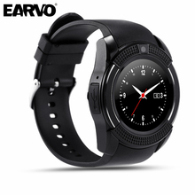 Original V8 Sport Pedometer Health Watch Full Screen Smart Watch for Android iOS Phone Support SIM