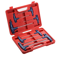 Jetech 8piece Set Blue Color T Handle Hex Key Wrench Set Kit Metric 2 2 5