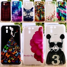 Soft TPU Phone Cover For Asus Padfone S PF500KL Cases DIY Painted Colorful Fashion Pictures Cell
