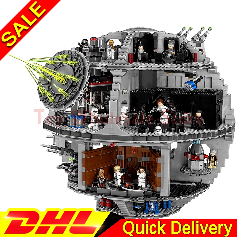 Lepin 05063 4016pcs Genuine Star battle Force Waken UCS Death Star Educational Building Blocks Bricks lepins Toys Clone 75159 in stock lepin 05063 4116pcs 05035 3804pcs star force waken ucs death wars model building blocks bricks toys gifts 75159 10188