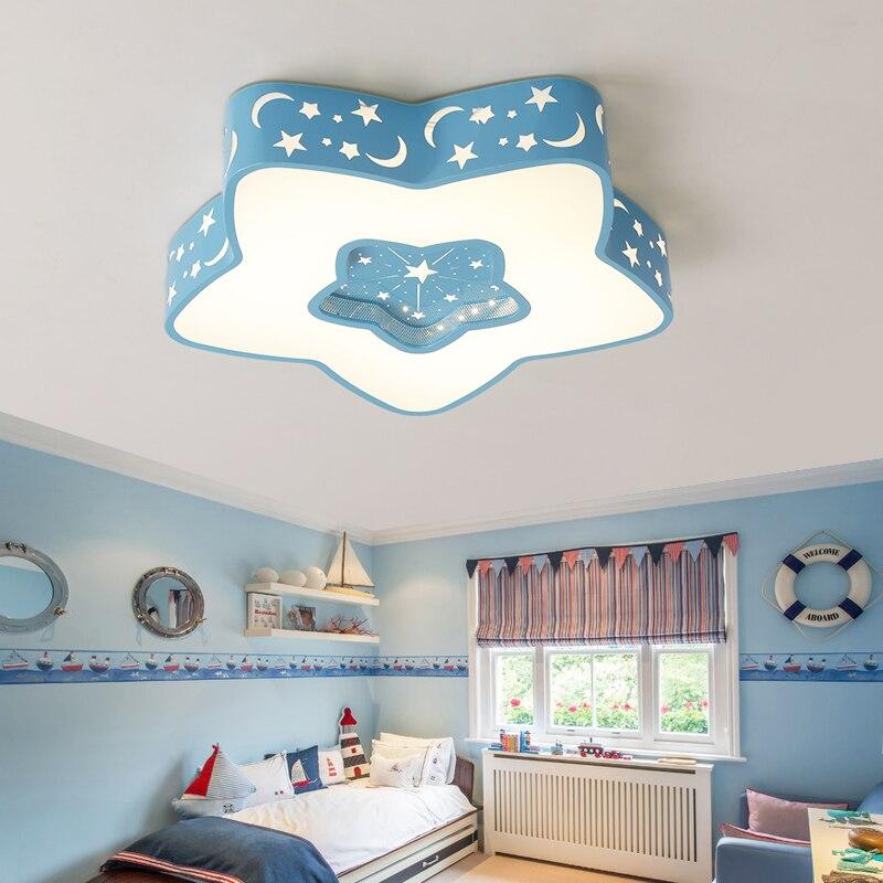 star Creative LED Ceiling Lights For Bedroom Kids room dimmable lustre led Lighting Ceiling Modern olight Indoor ceiling lamp цена