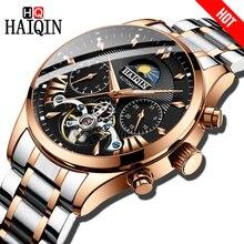 HAIQIN luxury Automatic Mechanical Men Watch classic Busines