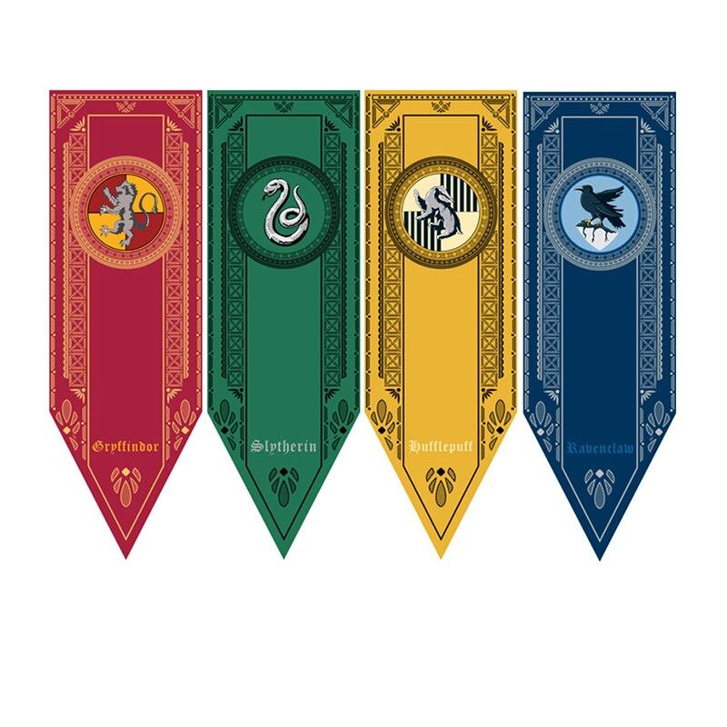 Harry Potter Flag College Banners Gryffindor Slytherin