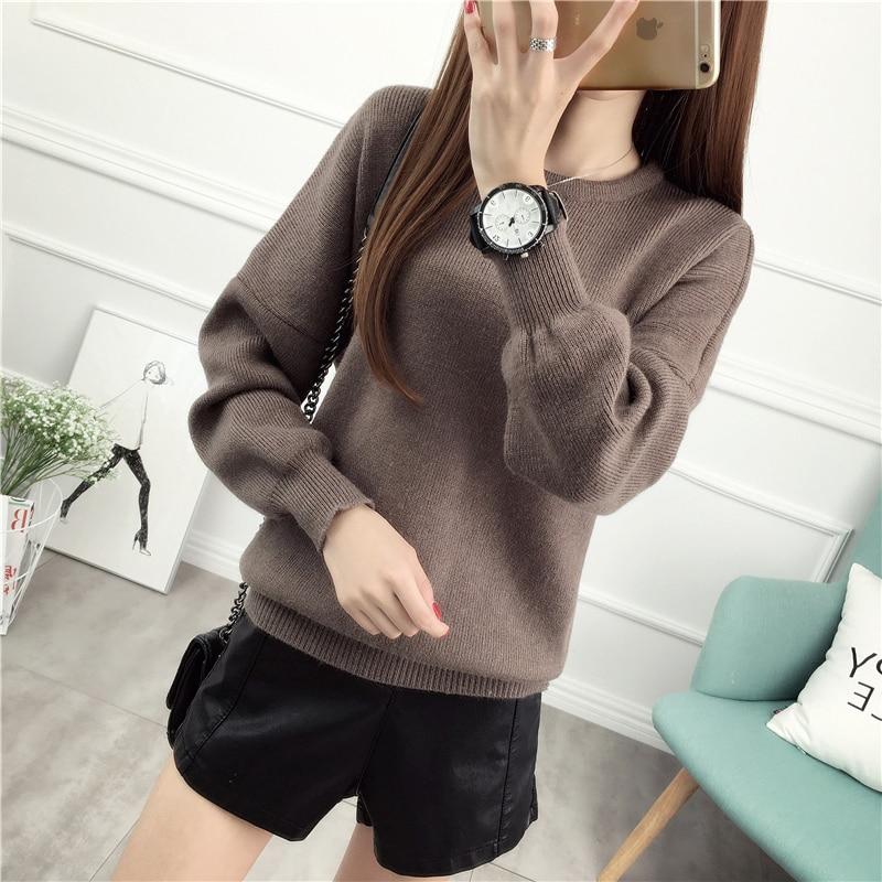 Diseño del cortocircuito del suéter Primavera femenina y engrosamiento de invier