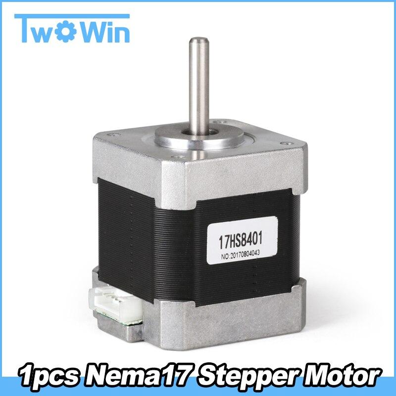 Long NEMA 11 staffa motore passo-passo per asta 15 mm.