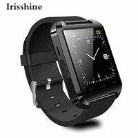 Irisshine C6 marka lüks Unisex İzle 1 ADET Smart Bilek İzle Telefon Mate Bluetooth 4.0 Android HTC Samsung Toptan Için