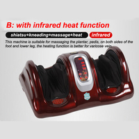 HFR 8802 2 HealthForever Brand Wireless Control Kneading Device Legs Instrument Electric Infrared Heating Foot Massager
