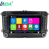 LJDA GPS Navigation Wince8 0 Car DVD For Volkswagen Golf 4 Golf 5 6 Touran Passat