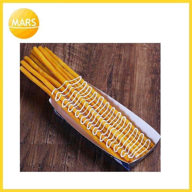 Длинный картофель фри модель поддельные самые длинные картошка фри модель формы ног длинные чипы образец закуски муляжи пищевых продуктов ... - 4