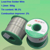 Quality Promise 1 2mm 500g Environment Friendly Soldering Tin Wire Lead Free Solder Wire 99 3