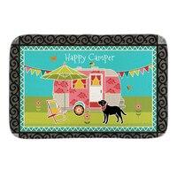 Animals Doormats Decor With Happy Camper Doormat Garden Dog Indoor Outdoor Mats Soft Lighteness Short Plush