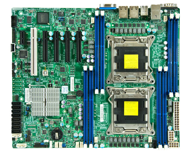 OEM X9DRL-iF Dual Server Board <font><b>c602</b></font> LGA2011 Support E5-2600 DDR3 Memory image