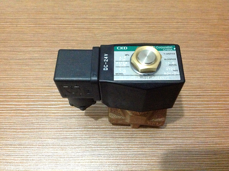 CKD solenoid valve AB41-04-8-02E-DC24V Direct acting 2 port solenoid valve (general purpose valve)