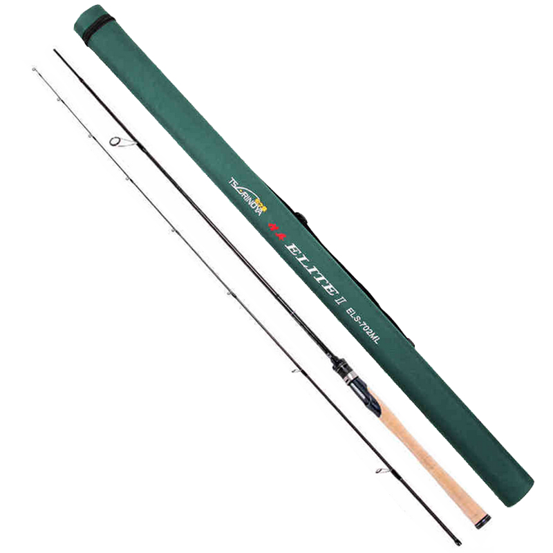 Trulinoya Spinning Fishing Rod 2.13m Power:ML Action:M Fast 2Sections 4-16g Carbon Lure Rods FUJI Accessories Pesca Stick Tackle trulinoya 2 1m 7 0 soft carbon spinning fishing rod with two tips m mh power fishing tackle