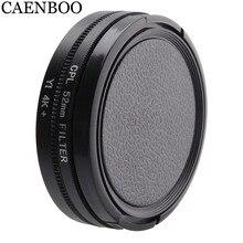 CAENBOO фильтры для объектива для XiaoMi Yi 4K+ Plus круговой CPL фильтр Спортивная Экшн-камера протектор для Xiaomi Yi 4K Lite аксессуары