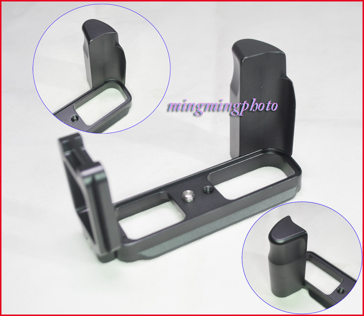 Quick Release QR L Shape Plate Bracket Hand Grip Tripod For Nikon J1 Arca Swiss