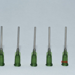 Plastic steel needle 14G 1 inc