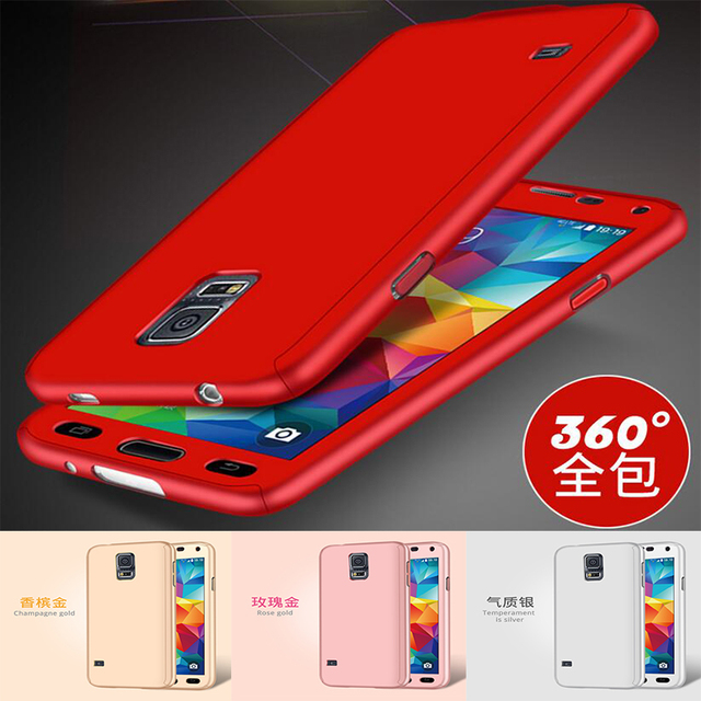 d7baa69c3e1 Caso de luxo Para Samsung Galaxy Note Tampa 3 360 Graus Frente Verso Full  Body Capa
