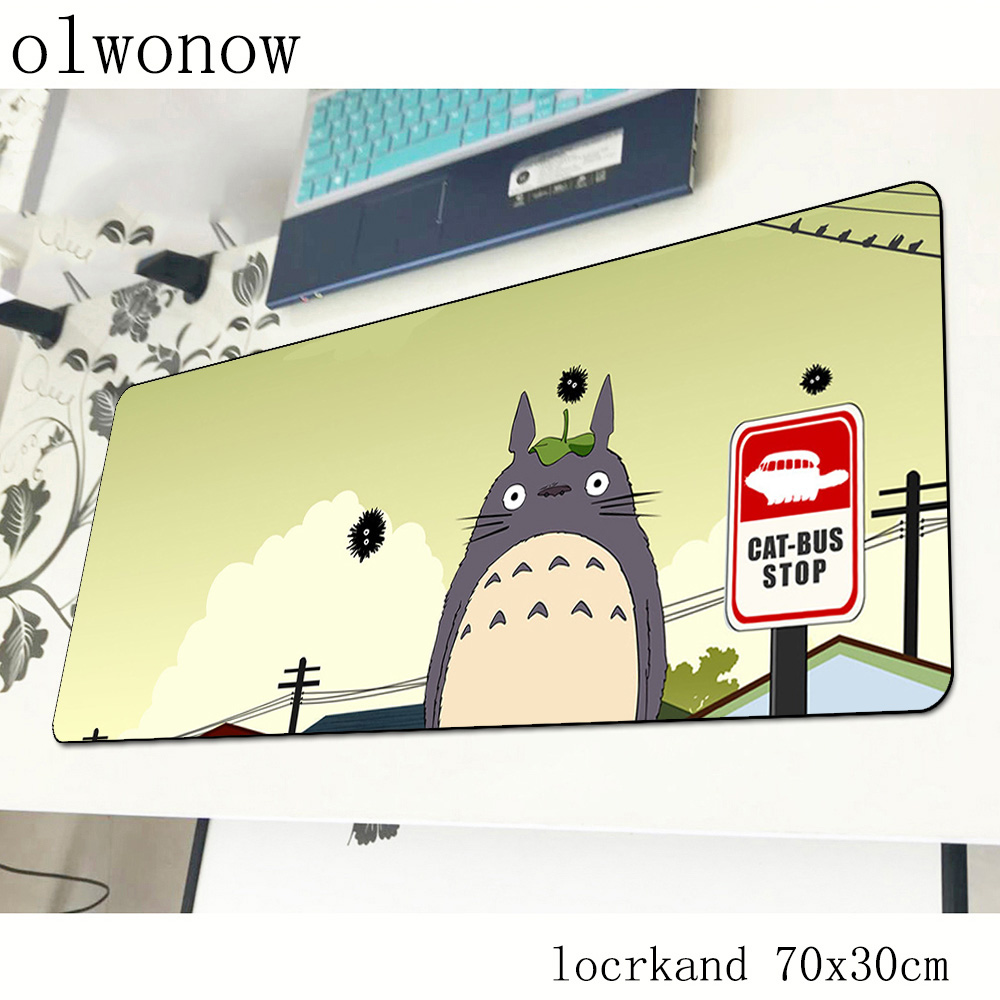 Totoro Mouse Pad Gamer New Arrival 700x300x2mm Notbook Mouse Mat Gaming Mousepad Anime Pad Mouse PC Desk Padmouse