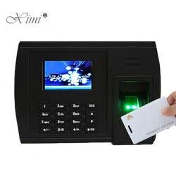 Отпечатков пальцев и RFID карты рабочего времени терминал Linux Системы TCP/IP USB Время отпечатков пальцев сотрудника посещаемость