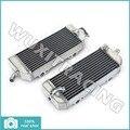 Для KTM 400 450 525 SX MXC ехс 03 04 05 06 07 л / R новый алюминиева ядер MX Offroad радиаторы охлаждения