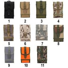 NEW Mens Small Waterproof Military Belt Waist Bags 600D Oxford Mobile Phone Wallet Travel Pouch Bolsa