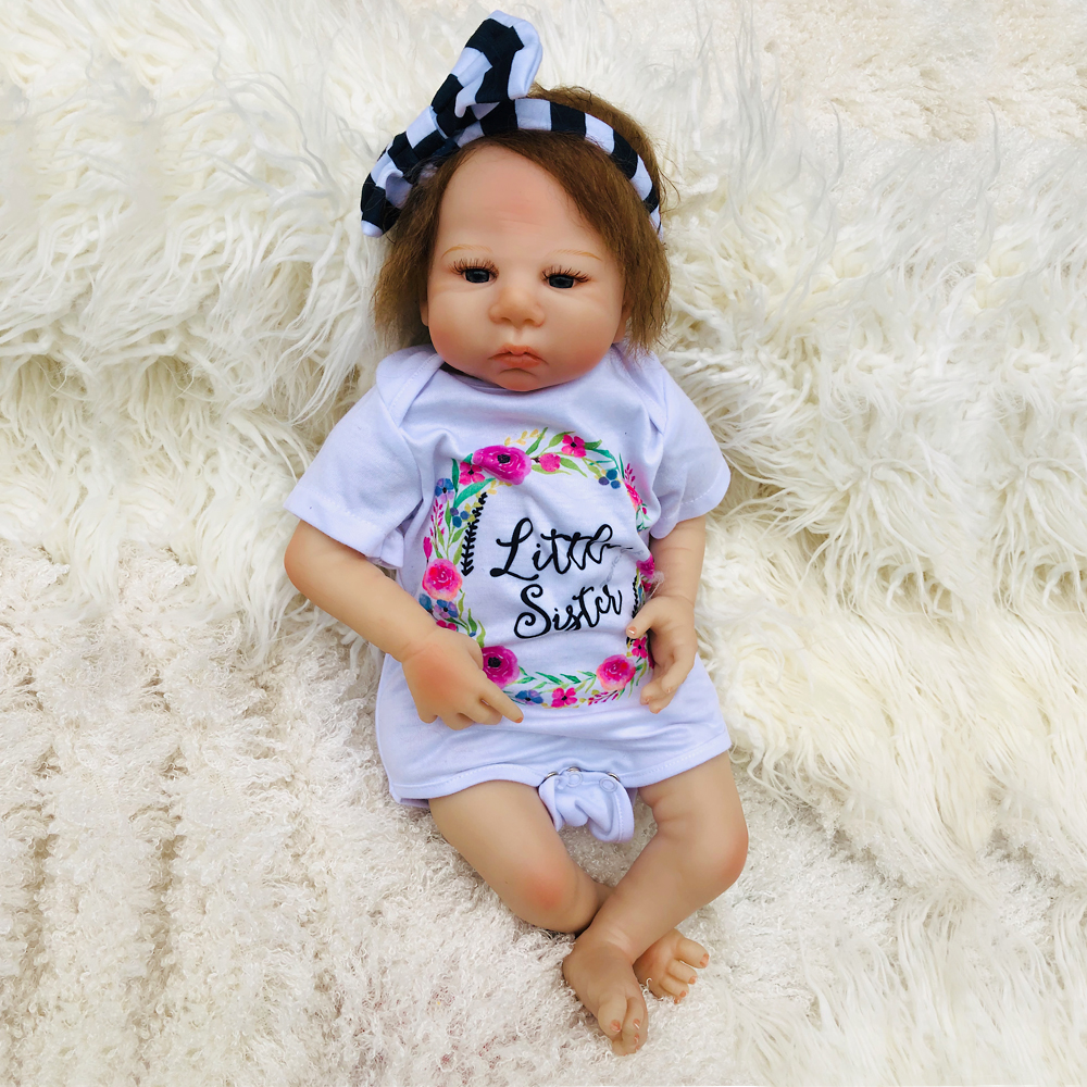 1846cm real reborn silicone Baby Dolls handmade Realistic Lifelike collectible doll bebe bonecas Reborn Birthday Xmas gifts1846cm real reborn silicone Baby Dolls handmade Realistic Lifelike collectible doll bebe bonecas Reborn Birthday Xmas gifts