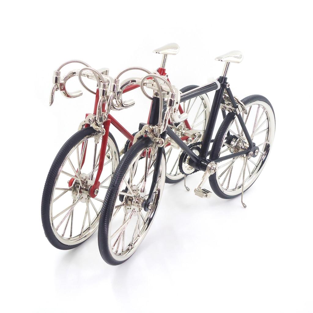 Nuevo 1:10 Básculas aleación Bicicletas Dollhouse miniaturas Muebles ...