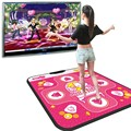 Hot Play Games with your Television Non-slip Dancing Step Dance Mats Pads to Pc USB Dance Paw Pads Shoes Fitness Dance Pads