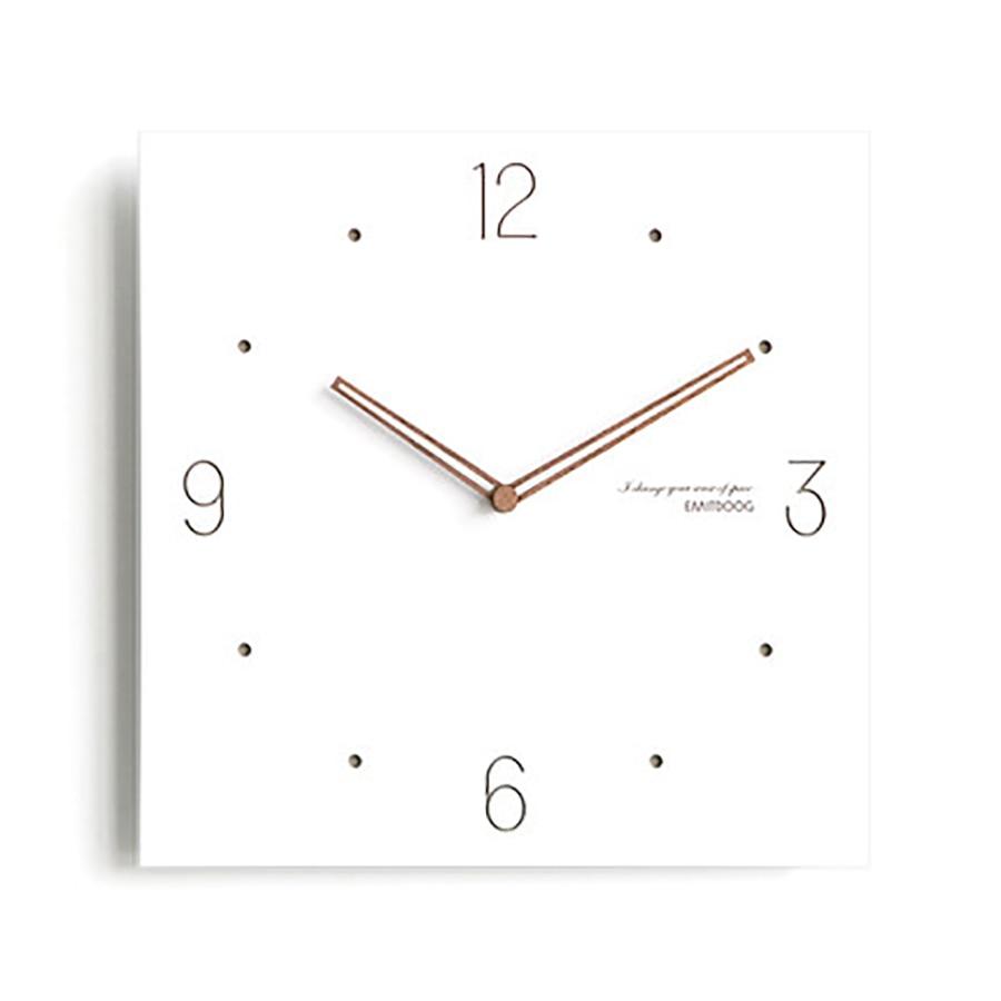 Square Wall Clock Modern Design Kitchen Silent Digital Secret Stash Guess Women Secret Stash Mechanism Lreloj De Pared WZH314
