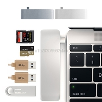 5 In 1 USB 3 1 Type C Hub USB C Hub Adapter USB 3 0