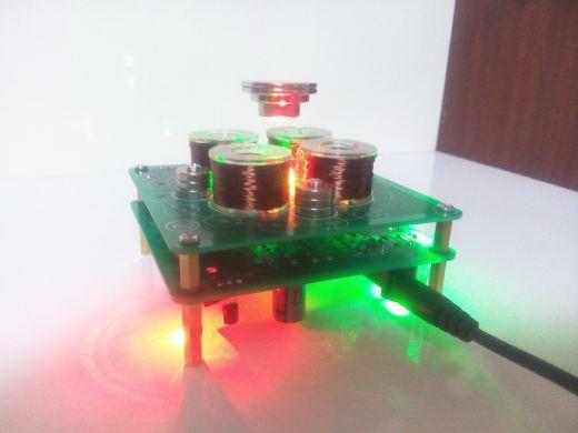 New magnetic levitation Kit / diy/ push type magnetic levitation magnetic levitation maglev / design / decoration finished