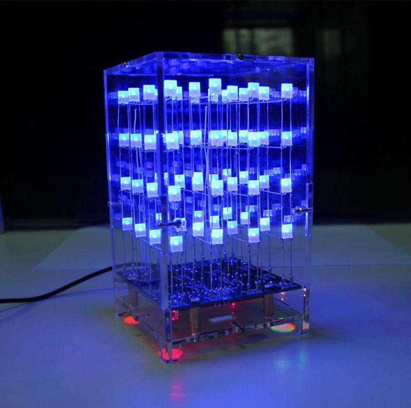 Arduino DIY 8x8x8 LED Cube 3D Light Square Electronic