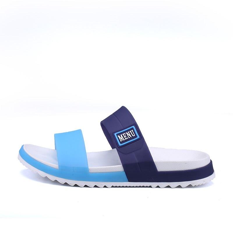 LAISUMK Summer Beach Men Slippers Casual Shoes Double Buckle Man Slip on Flip Flops Flats Camouflage Flip Flop Indoor & Outdoor 79