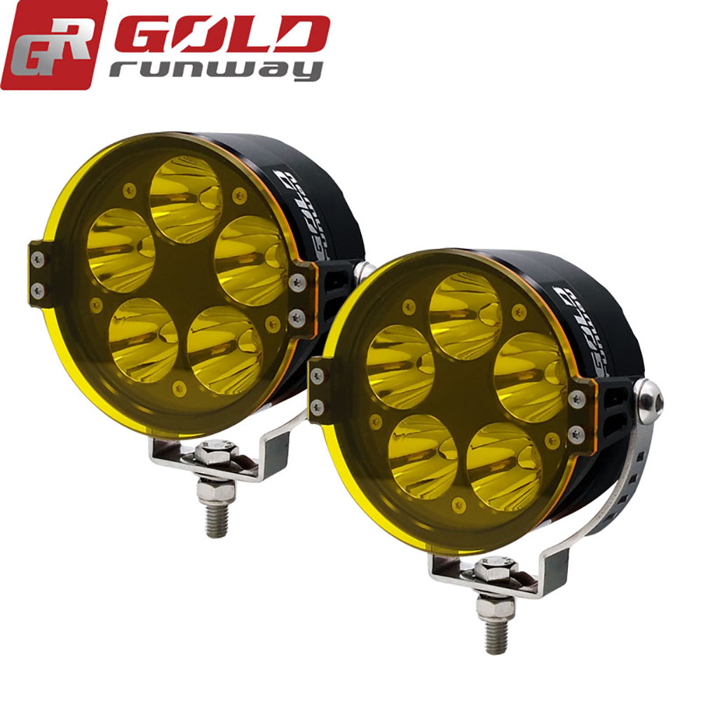 Goldrunway Gr50x Universal Motorcycle Led Auxiliary Fog