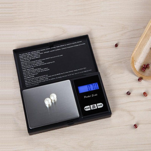 Image 5 - 100g 500g Precision pocket Jewelry Scales Laboratory Balance Portable digital Weight Gram scales Medicinal scale Libra steelyard