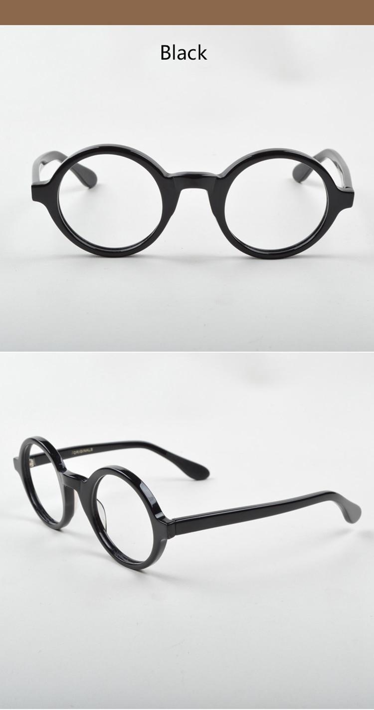 Óculos ópticos molduras homens mulheres johnny depp