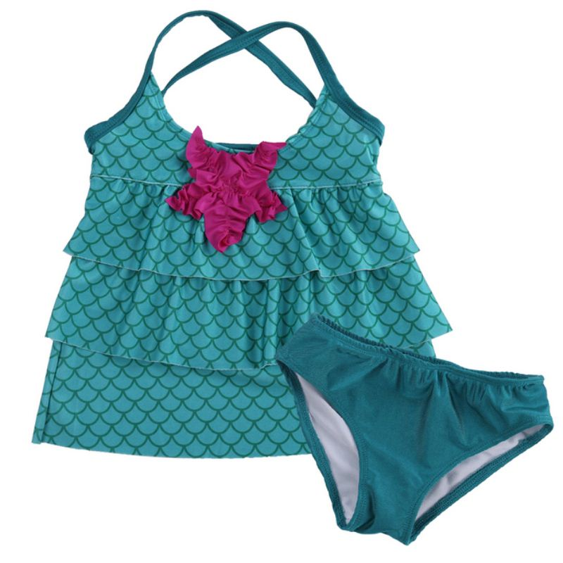 Baby Bikini 2pcs Baby Kids Girls Bikini Set Girls Swimwear Summer Chidren Swimsuit Swimming Suit Bathing Suit Costume