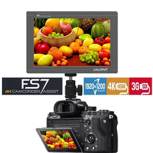 Lilliput FS7 7 дюймов Full HD 1920×1200 4 к HDMI 3G-SDI вход/выход на камеру полевой монитор для ZHIYUN Crane 2/DJI RONIN S/Стабилизатор Feiyu