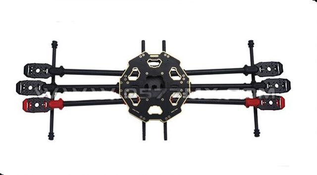 F07807 tarot 680pro plegable hexacopter tl68p00 aviones de seis ejes de $ number ejes
