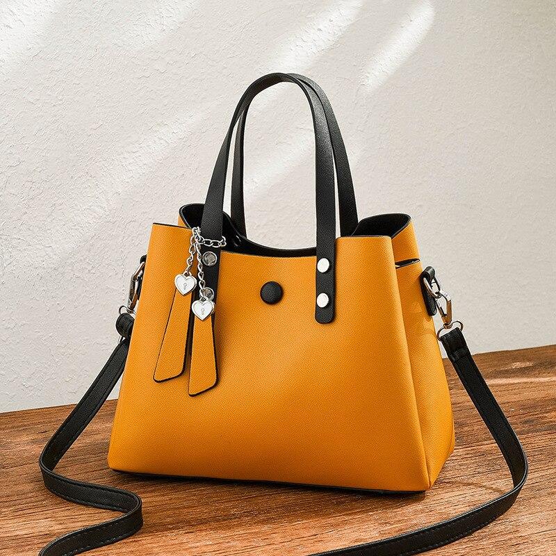 Brand Women Bag Luxury Handbags Lady Messenger Girls Fashion Shoulder Vintage PU Leather bag