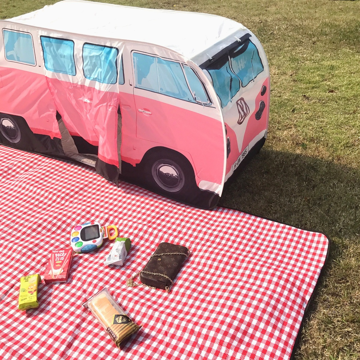2018 NOUVEAU Automobile 3 Personne Pliant Toile Deux Chambre Voyage Auvent De Voiture D'été Tente Camping Chapiteau Tentes