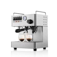 ماكينة قهوة اسبريسو التجارية CRM3012 ماكينة صنع قهوة أوتوماتيكية بالكامل من الفولاذ المقاوم للصدأ 15 بار ضغط 1.7L سعة