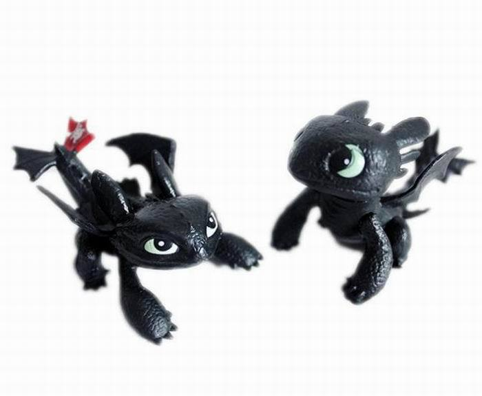 How to train your Dragon Cartoon Night Fury toothless Action