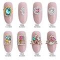 10pcs nail crystals glitter jewelry strass rhinestones gems star nail art decorations scrapbooking nails dekor supplies Y628~635