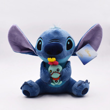 Hot Kawaii Stitch Plush Toys Doll Anime Cute Stich Stuffed Children Kids Birthday Gift 23cm