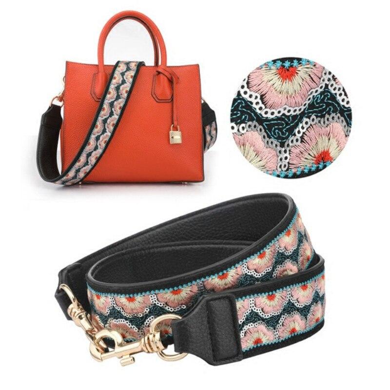 Replacement Rivet Bag Straps Adjustable Handle Shoulder Belt Handbag Accessories