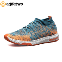AQUA TWO Running Shoes Men Trainers Breathable New Popular Men Shoes Summer Outdoor Athletic Shoes Mens