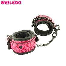 Сережка PU наручники наручники секс-игрушки bdsm связывание набор фетиш раб bdsm секс игрушки для пар взрослых игр